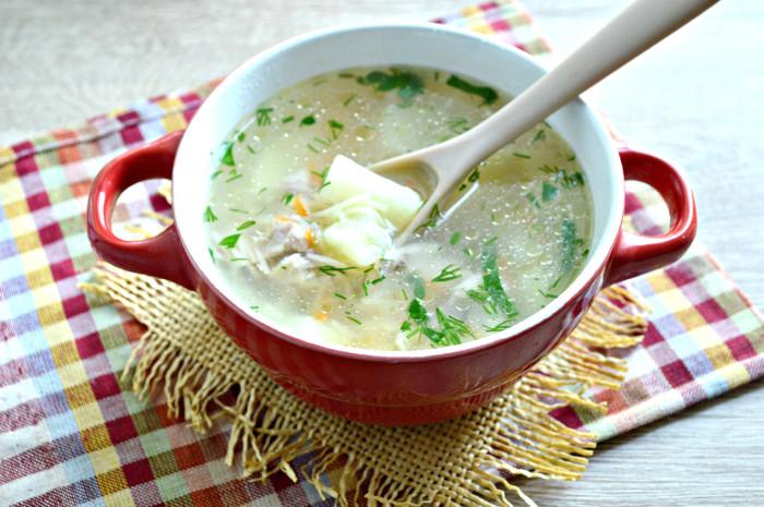 Куриный суп с вермишелью и картошкой - простой и вкусный