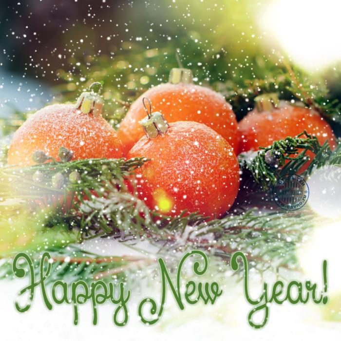 Милые старинные новогодние открытки с годом Свиньи на английском