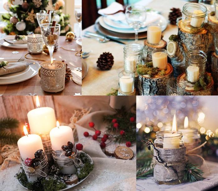 Оформление новогоднего стола в год Кабана или Свиньи - как сервировать новогодний стол 2019