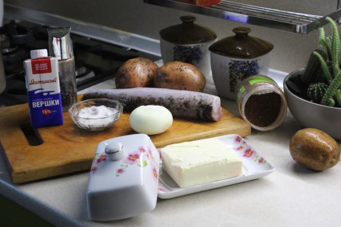 Филе щуки в духовке с луком и сливками