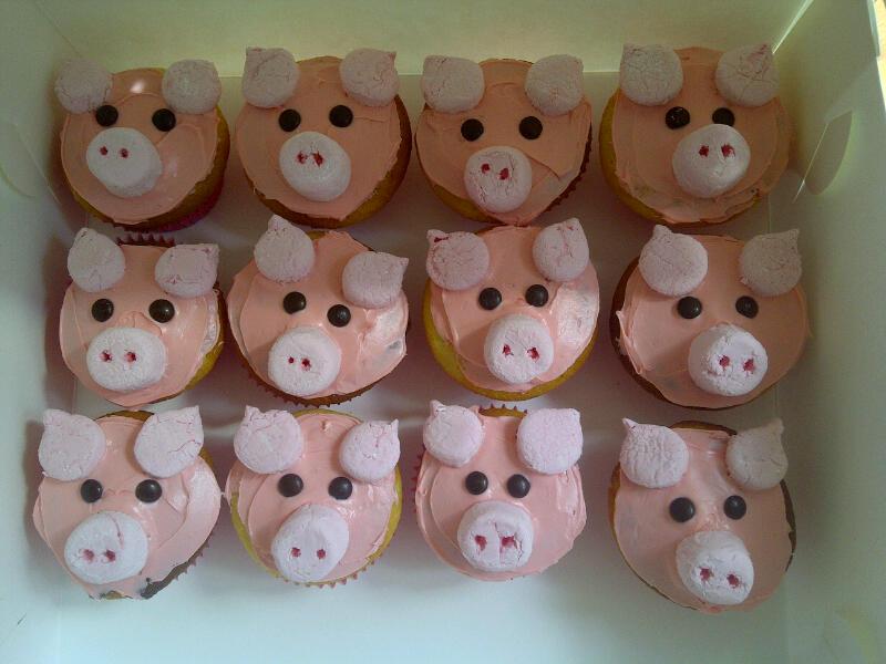 Пирожные свинки