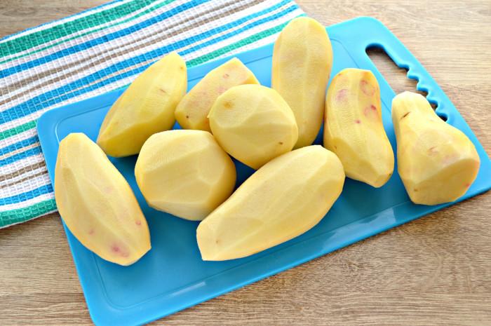 Картошка-пюре со сметаной