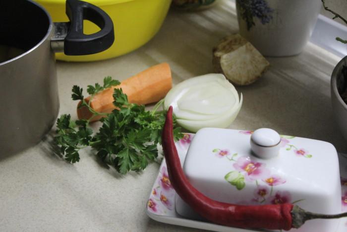 Вкусный картофельный суп с вермишелью и курицей