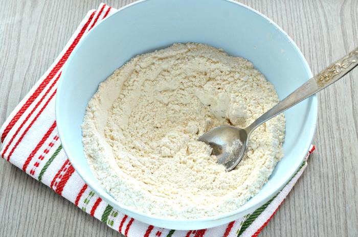 Тесто для вареников на кипятке и растительном масле