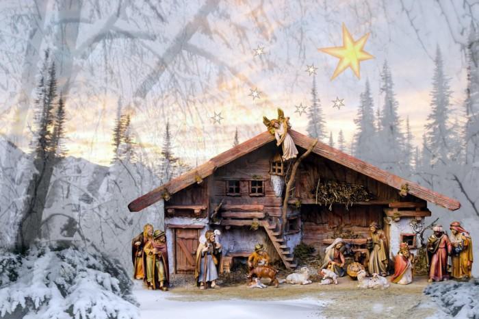 Оригинальные открытки с Рождеством
