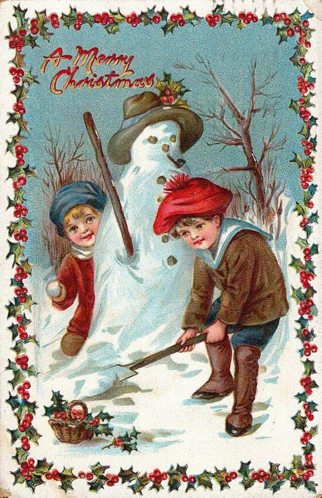 Лучшие рождественские открытки