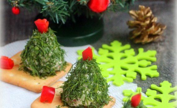 Новогодняя закуска Елочка - интересная, простая, вкусная и красивая