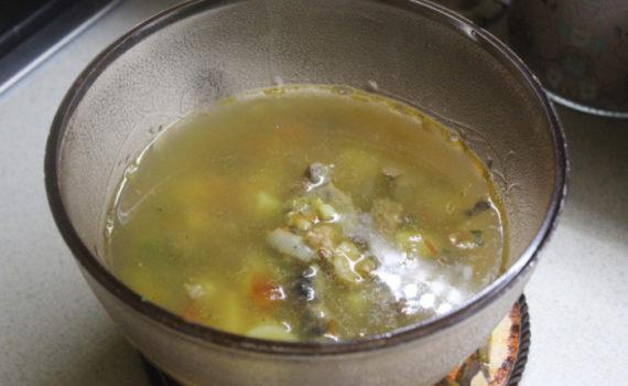Овощной суп Минестроне со свининой