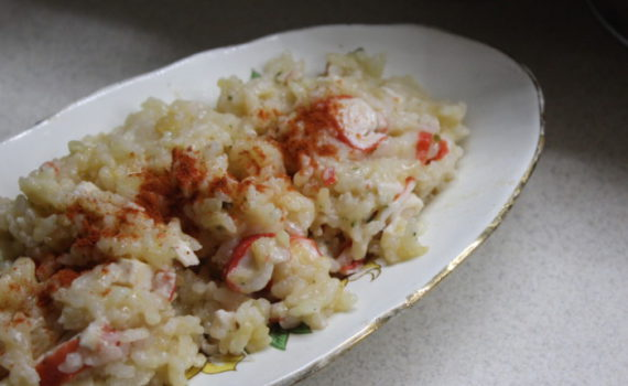 Рис с крабовыми палочками - вкусный, сытный и ароматный гарнир