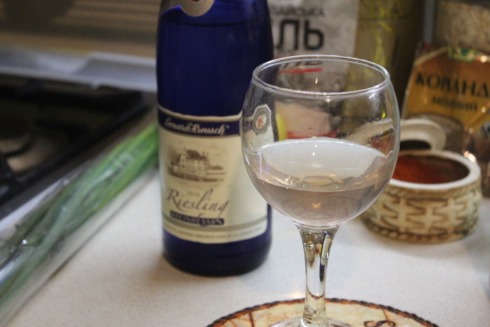 Ризотто с белым вином