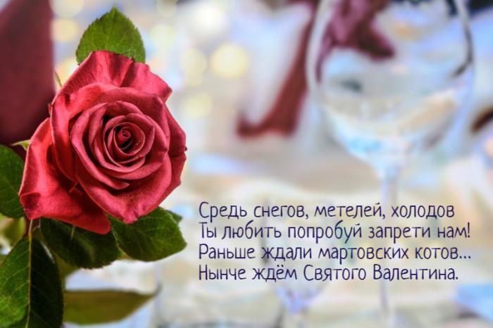Прикольные стихи-поздравления на день святого Валентина