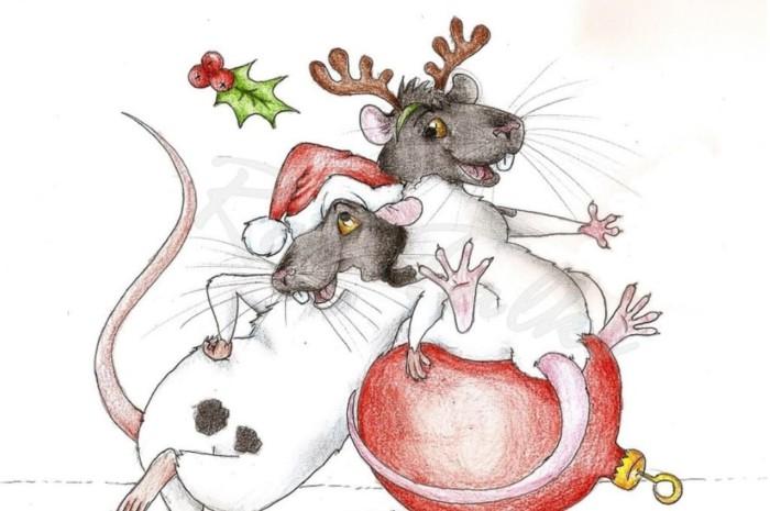 Красивые нарисованные картинки с мышами