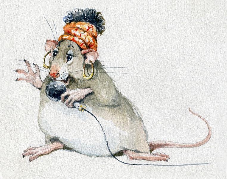 Современные рисунки с мышками