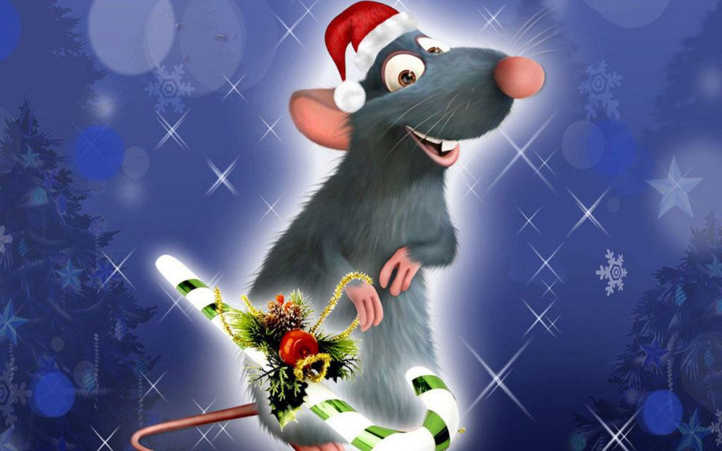 Интересные обои на год Крысы на рабочий стол