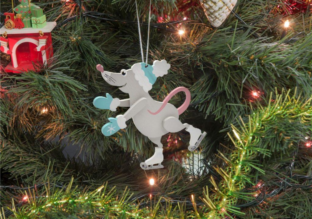 Необычные обои с новогодними крысами и мышами на рабочий стол