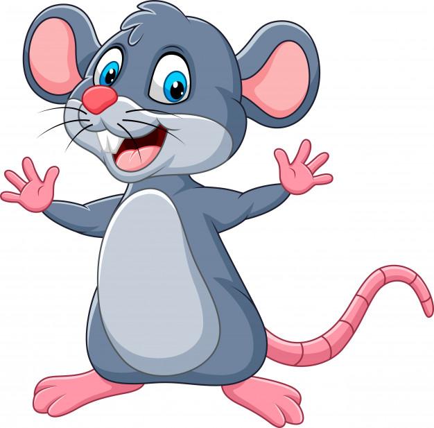 Интересные нарисованные картинки на год Крысы