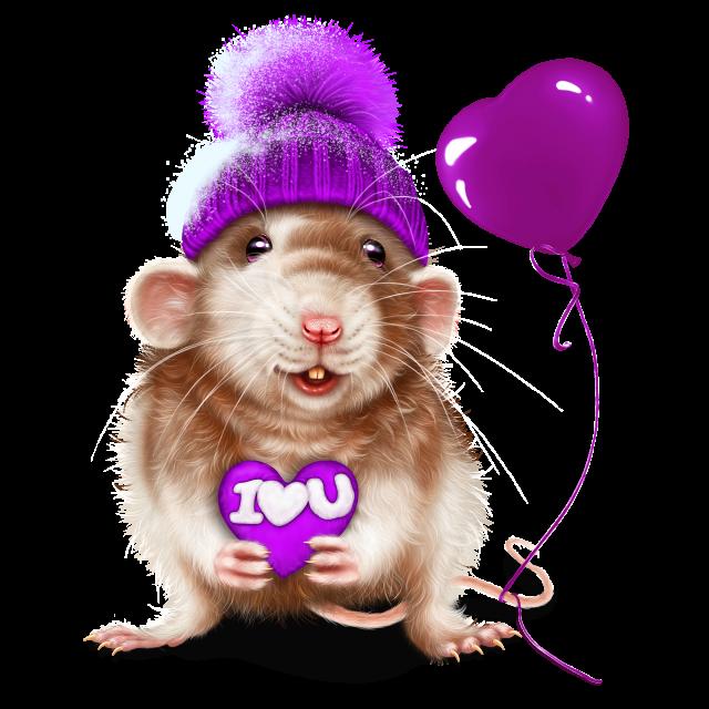 Красивые рисунки с крысой