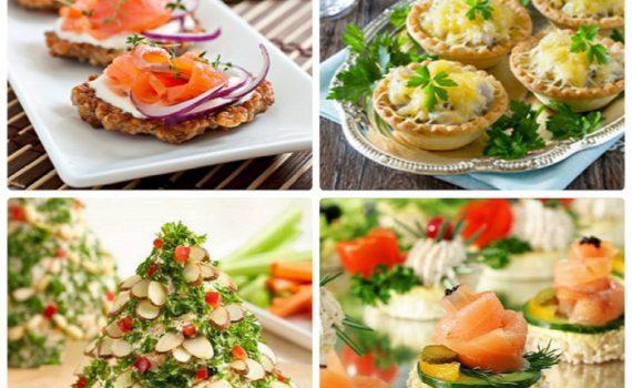 Холодные закуски на Новый год 2020 - лучшие новые рецепты новогодних закусок