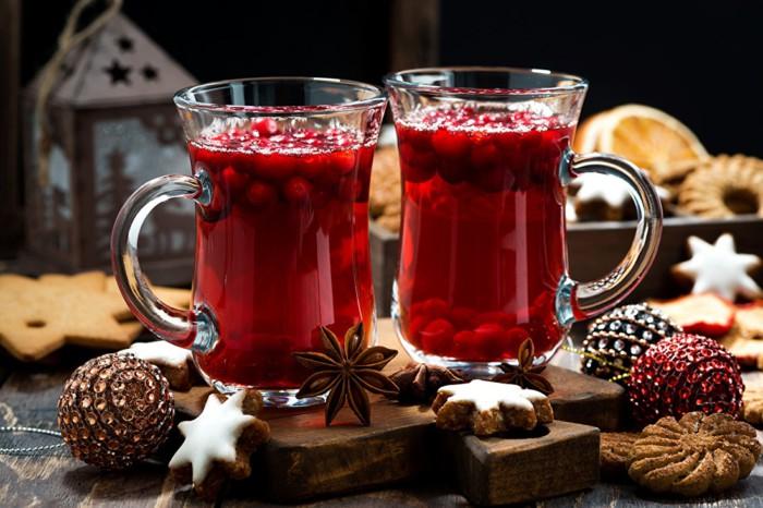 Новогодние напитки и алкогольные и безалкогольные коктейли - какие напитки пить на Новый год